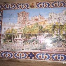 Antigüedades: PLAFON DE AZULEJOS, CATEDRAL DE GRANADA. Lote 172983603