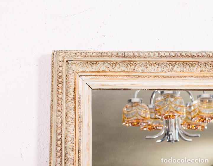Antigüedades: Espejo Antiguo Restaurado Gibel - Foto 2 - 129586363