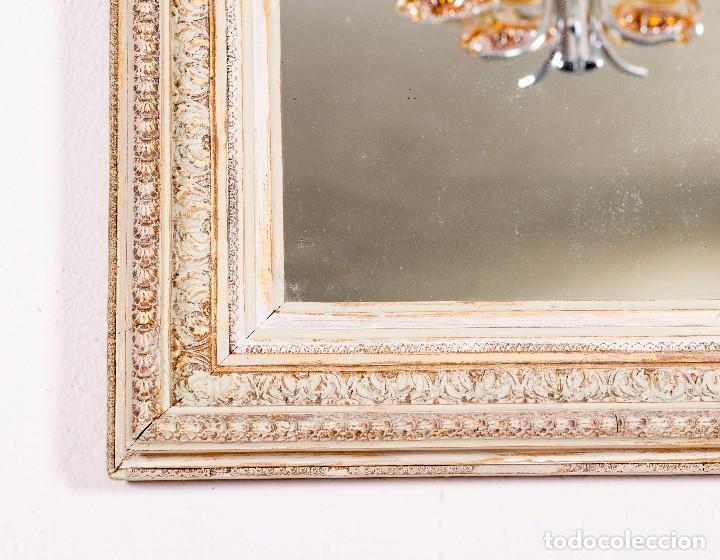 Antigüedades: Espejo Antiguo Restaurado Gibel - Foto 3 - 129586363