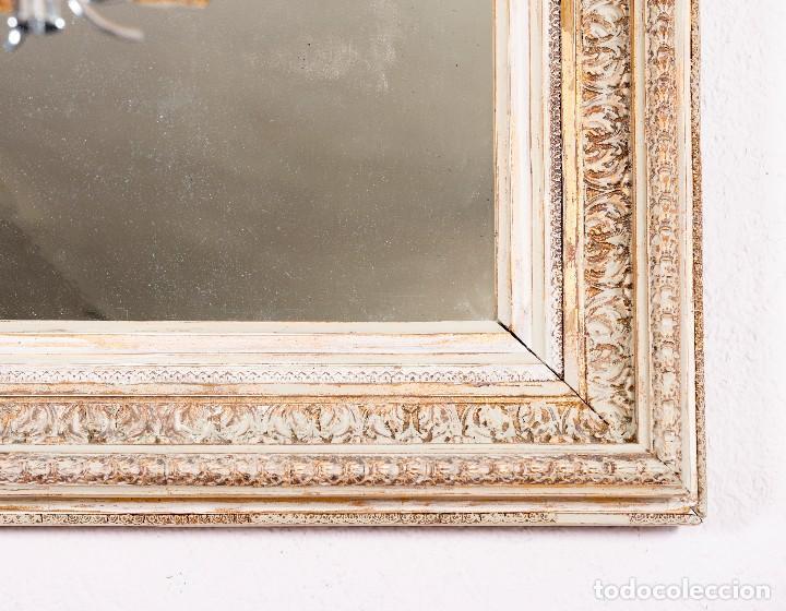 Antigüedades: Espejo Antiguo Restaurado Gibel - Foto 4 - 129586363