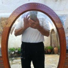 Antigüedades: ESPEJO ANTIGUO DE NOGAL.. Lote 129649831