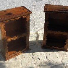 Antigüedades: PAREJA DE MUEBLES. Lote 129656651