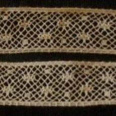 Antiquités: ANTIGUO ENTREDOS DE ENCAJE DE VALENCIENNES PPIO. S. XX. Lote 129691475