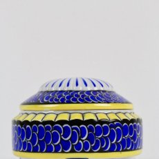 Antigüedades: CAJA DE PORCELANA ALEMANA . MARCA FRAUREUTH . SIGLO XIX.. Lote 129699867