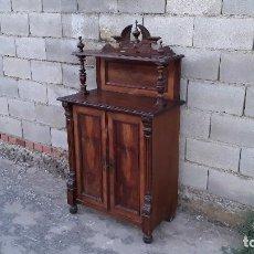 Antigüedades: ENTREDÓS ANTIGUO ESTILO ALFONSINO MUEBLE AUXILIAR ANTIGUO PEQUEÑO ARMARIO APARADOR MUEBLE DE ENTRADA. Lote 129742815