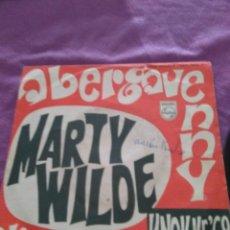 Discos de vinilo: ABERGAVENNY MARTY WILDE ALICE IN BLUE KNOKKE 68 PROMO. Lote 129994119