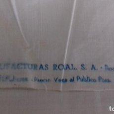 Antigüedades: MUY ANTIGUO CORTE DE SABANA DE BUENISIMO ALGODON, COLOR CRUDO.. Lote 130041239