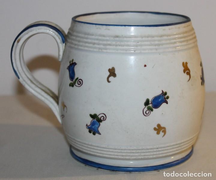 Antigüedades: JARRA EN PORCELANA FIRMADA POR GENIS CIRERA CON SELLO DE LA CARTUJA PICKMAN SEVILLA - Foto 5 - 130067935