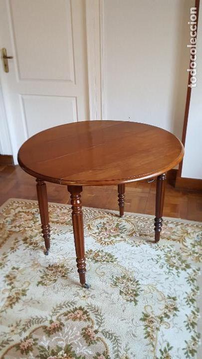 juego de comedor (mesa de caoba y 6 sillas de p - Kaufen Antike ...