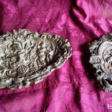 Antigüedades: 2 PIEZAS BRONCE.. Lote 130114383