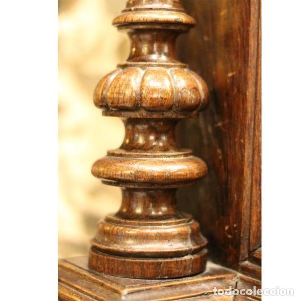 Antigüedades: Antiguo marco de madera de roble del siglo XIX - Foto 2 - 130120671
