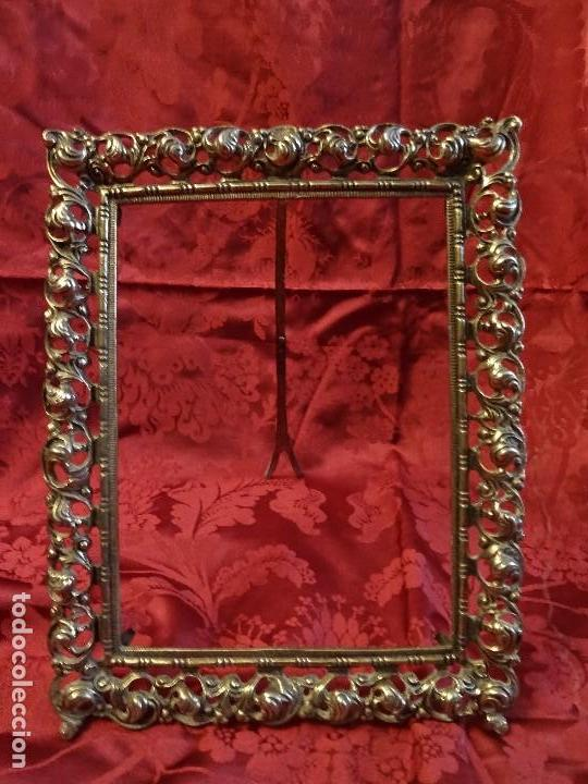 Antigüedades: Marco de Bronce - Foto 2 - 130154079