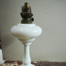 Antigüedades: QUINQUER DE OPALINA PERFESTO. Lote 130160016