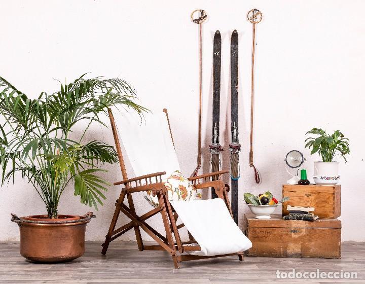 TUMBONA ANTIGUA (Antigüedades - Muebles Antiguos - Sillas Antiguas)