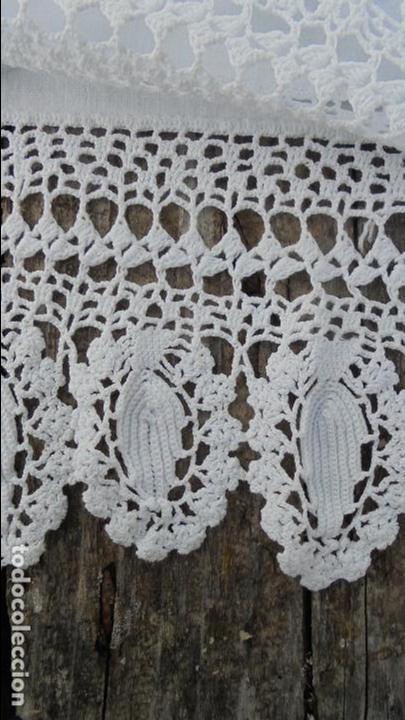 Antigüedades: Antigua funda de almohada de hilo, almohadón de hilo, ganchillo - Foto 2 - 130166183