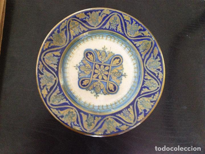 SANTARELLI ALFREDO-1874-1957 ITALIA (Antigüedades - Porcelanas y Cerámicas - Otras)