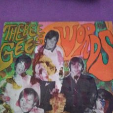 Discos de vinilo: THE BEE GEES - WORDS / SINKING SHIPS. Lote 130197135