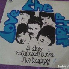 Discos de vinilo: LOVE THE AFFAIR A DAY WITHOUT LOVE I M HAPPY CBS ESPAÑA . Lote 130203807