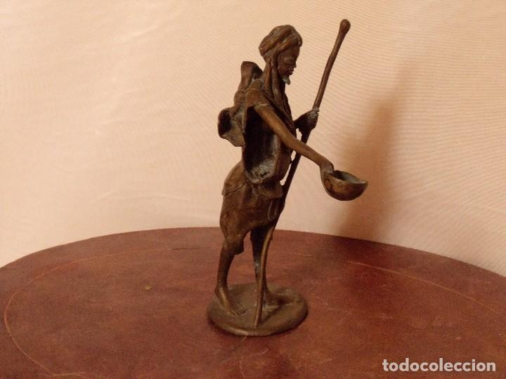 Antigüedades: Estatuilla de bronce - Foto 3 - 130211643