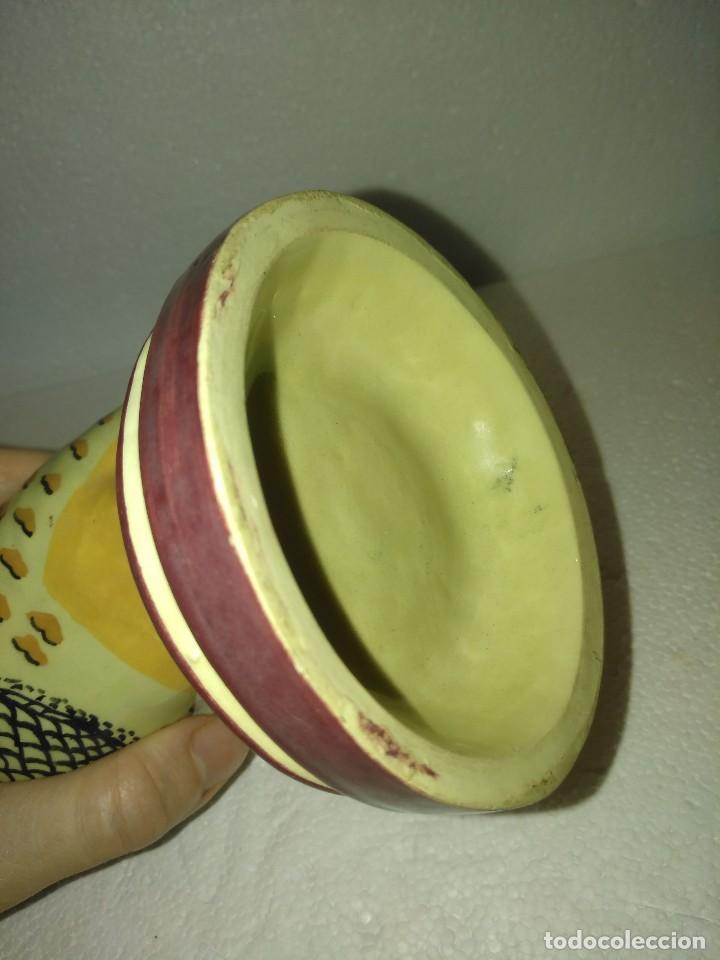 Antigüedades: Preciosa perdiz salsera de cerámica de Alcora - Foto 11 - 130214695