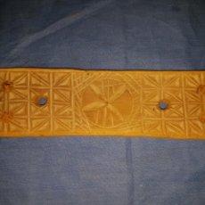 Antigüedades: ANTIGUA TABLILLA TABLETO ARTE PASTORIL. Lote 130217240
