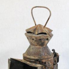 Antigüedades: ANTIGUO FAROL DE RENFE - PARA FERROCARRIL, TREN, GUARDAVIAS ETC. COMPLETAMENTE ORIGINAL. Lote 130256278