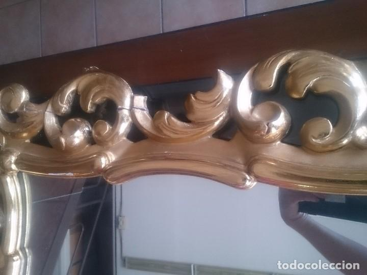 Antigüedades: Espejo tipo cornucopia estilo isabelino - Foto 4 - 130259226