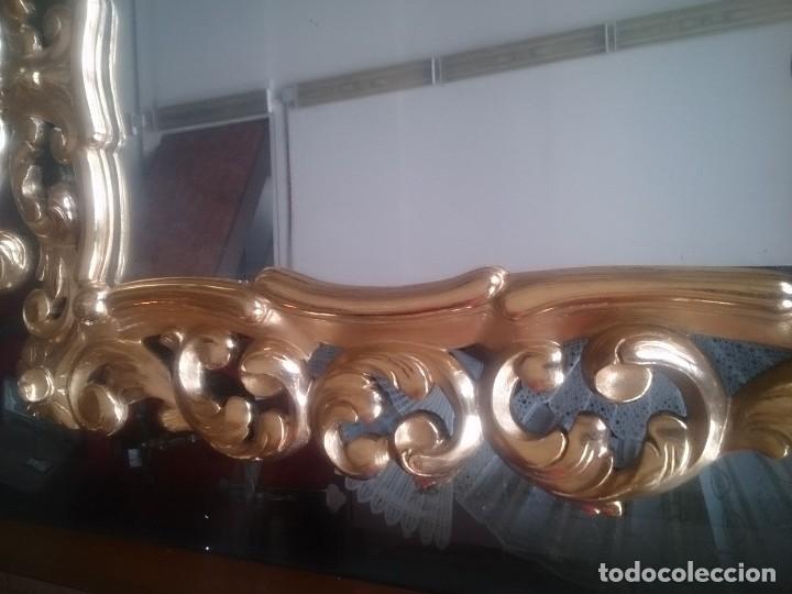 Antigüedades: Espejo tipo cornucopia estilo isabelino - Foto 5 - 130259226
