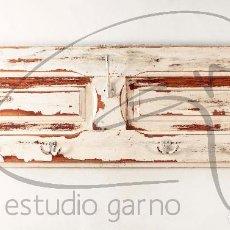 Antigüedades: PERCHERO CONTRAVENTANO ANTIGUO RESTAURADO.. Lote 130262462