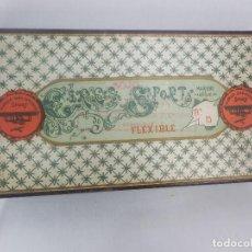 Antigüedades: RARA CAJA DE LACRE FLEXIBLE MARCA SPORT MUY RARO COLECCIONISTAS . Lote 130267770