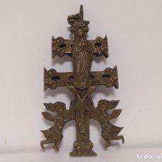Antigüedades: CRUZ DE CARAVACA SIGLO XVII. Lote 130296646