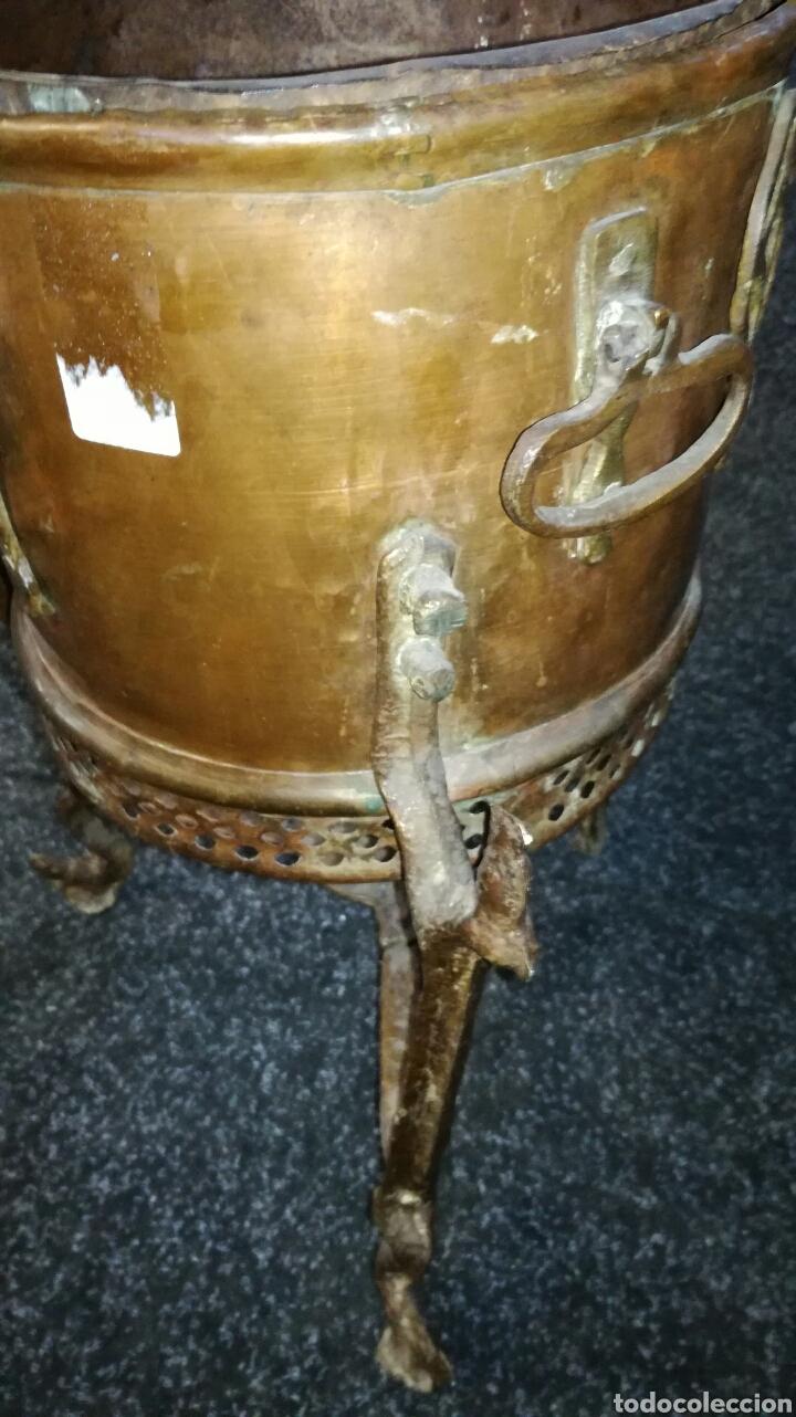 Antigüedades: Caldero de cobre antiguo - Foto 2 - 130339404