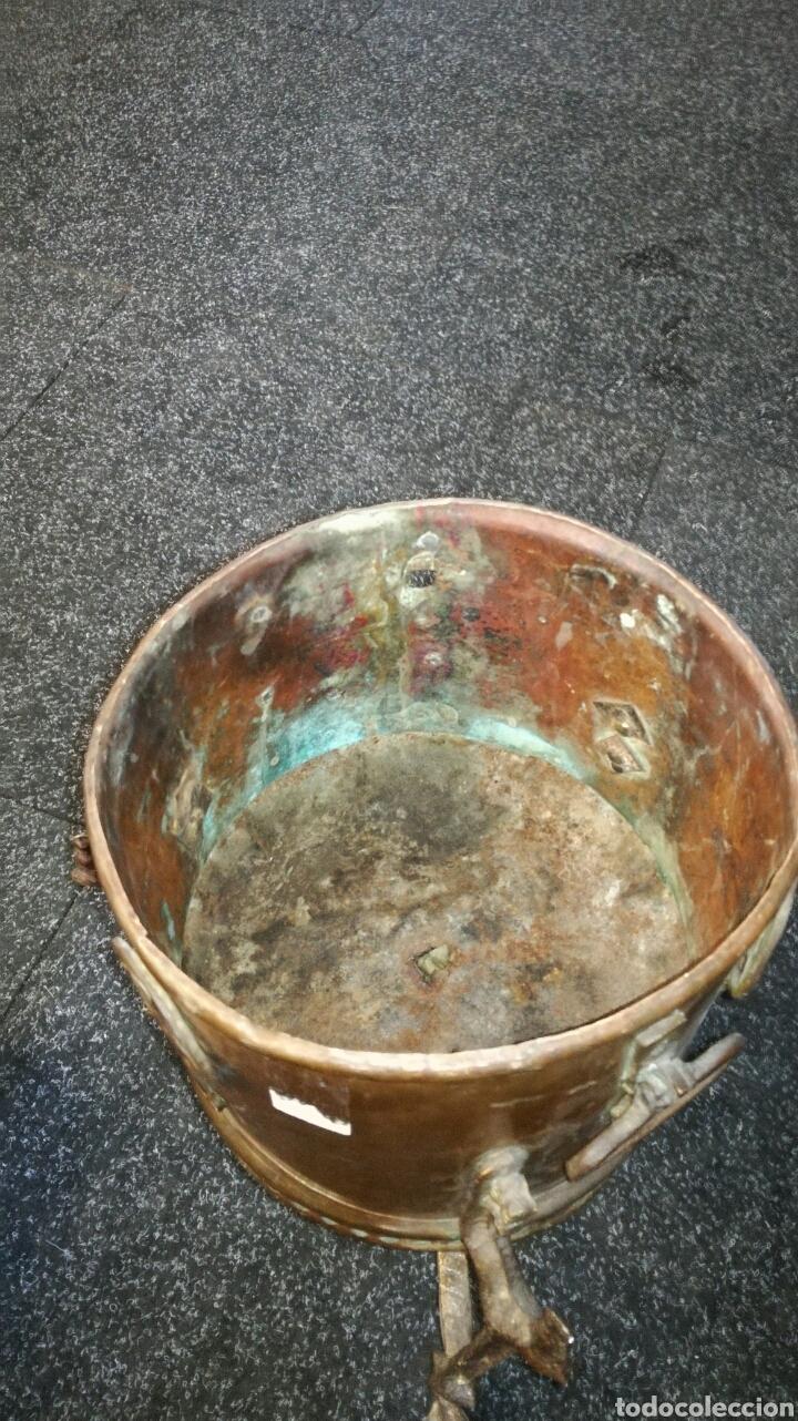 Antigüedades: Caldero de cobre antiguo - Foto 3 - 130339404