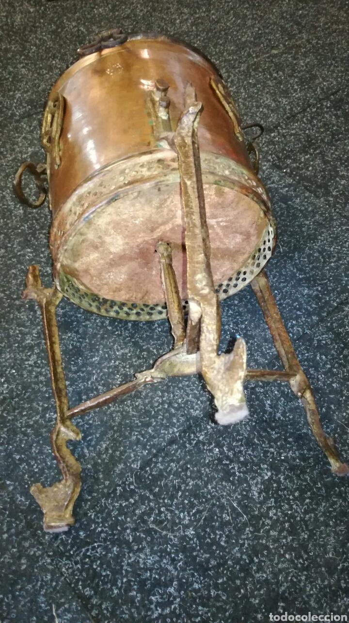 Antigüedades: Caldero de cobre antiguo - Foto 5 - 130339404