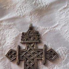 Antigüedades: CRUZ ETIOPE. Lote 130341038