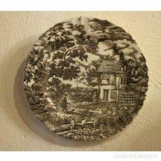 Antigüedades: PLATO DE PORCELANA. Lote 130422174