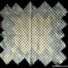 Antigüedades: ANTIGUO TAPETE DE ALGODÓN - AÑOS 50. Lote 130436666