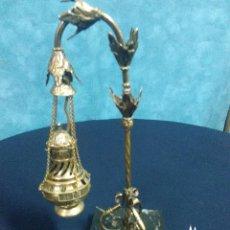 Antigüedades: LAMPARILLA BOTAFUMEIRO. Lote 130441626