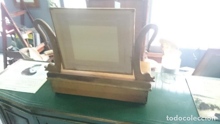Antigüedades: Antiguo tocador Imperio en madera de nogal. Perfecto. Siglo XIX - Foto 3 - 130452506