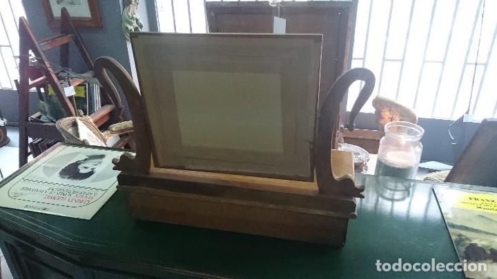 Antigüedades: Antiguo tocador Imperio en madera de nogal. Perfecto. Siglo XIX - Foto 4 - 130452506