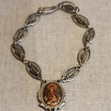 Antigüedades: ROSARIO DE PRIMERA COMUNIÓN / SANTA MARÍA LA MAYOR / 18 CM. / BUEN ESTADO.. Lote 130470530