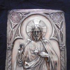 Antigüedades: SAGRADO CORAZON DE JESUS // EN RELIEVE. Lote 130477702