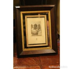 Antigüedades: ANTIGUA FOTOGRAFÍA ENMARCADA. Lote 130487082