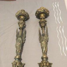 Antigüedades: CANDELABROS. Lote 130492704