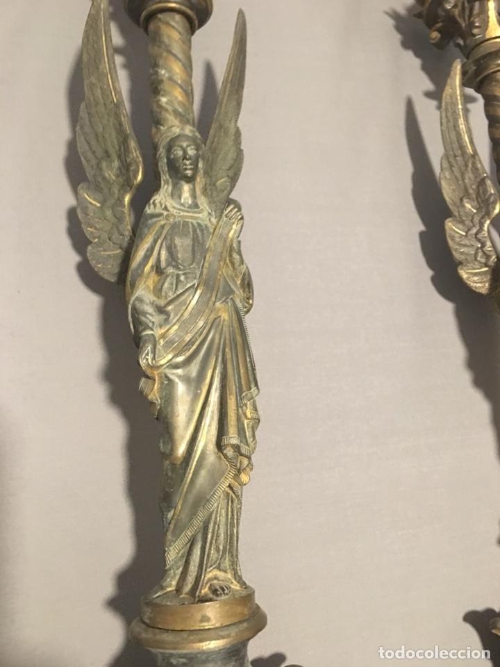 Antigüedades: Candelabros - Foto 3 - 130492704