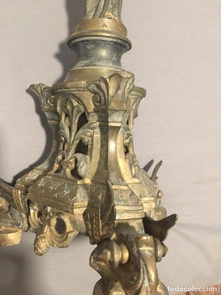Antigüedades: Candelabros - Foto 5 - 130492704