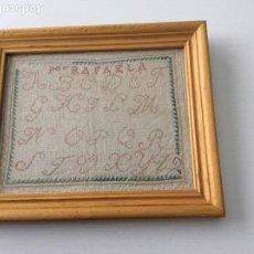 Antigüedades: DECHADO BORDADO. SIGLO XIX. PERFECTO ESTADO. Lote 130496834