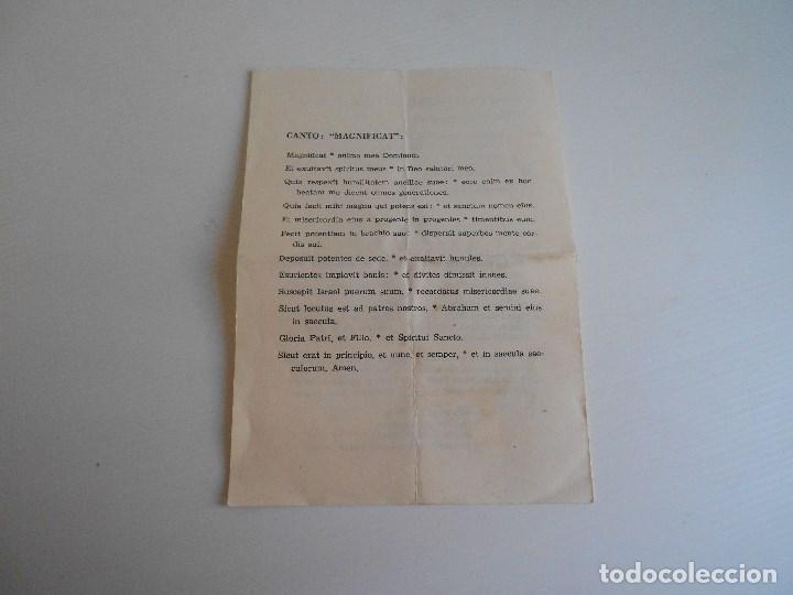 Antigüedades: rito ordenacion del obispo - Foto 3 - 130514762
