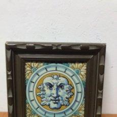 Antigüedades: CUADRO DE AZULEJOS DE FINALES DEL SIGLO XVII. Lote 130523687