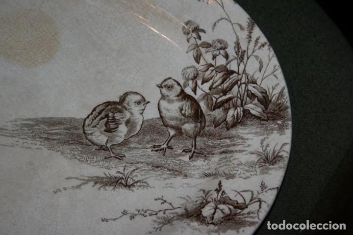 Antigüedades: Fuente San Juan, Premier, Sevilla, sello y marca. mide 38 x 28 cms. - Foto 3 - 130531874